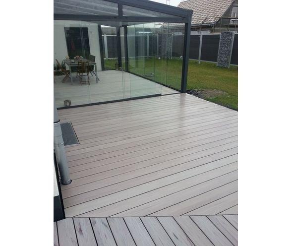 Wpc Terrassendielen Weiß hori terrassendielen komplett set bpc exclusive line weiß creme