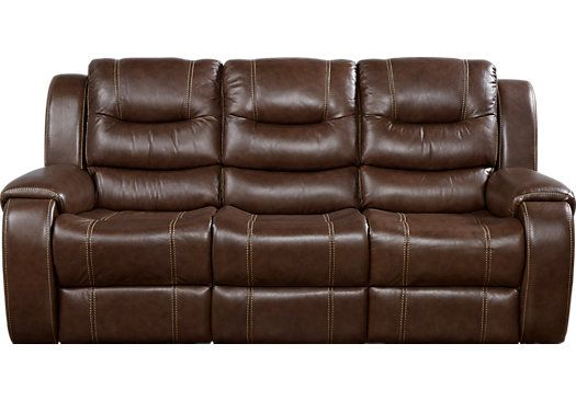 Magnificent Veneto Brown Leather Reclining Sofa Leather Reclining Sofa Bralicious Painted Fabric Chair Ideas Braliciousco