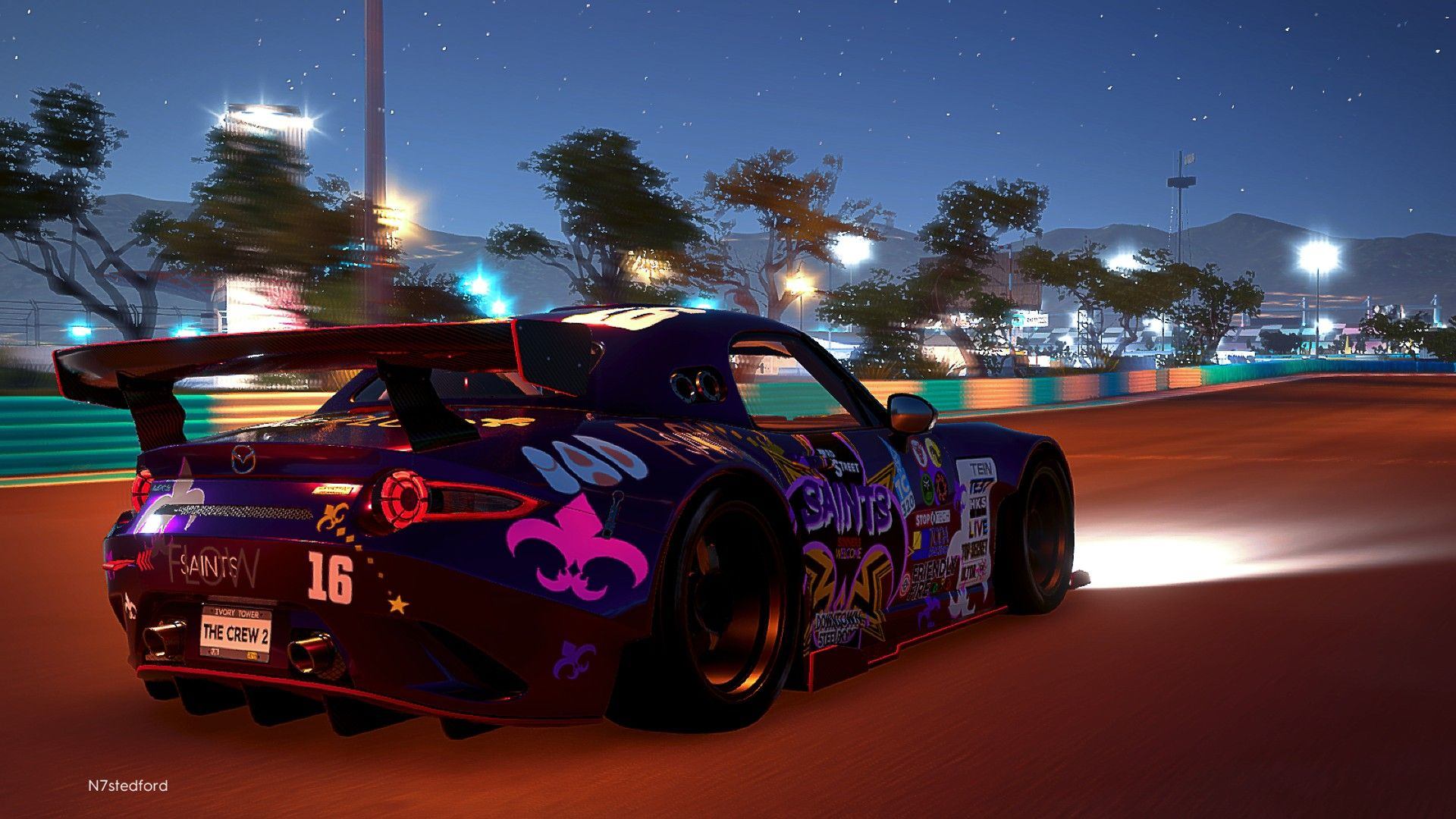 Saints Row themed Mazda MX-5 Touring Car  Available for