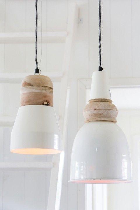 industrie hängelampe, hängeleuchte weiß, lampen ...
