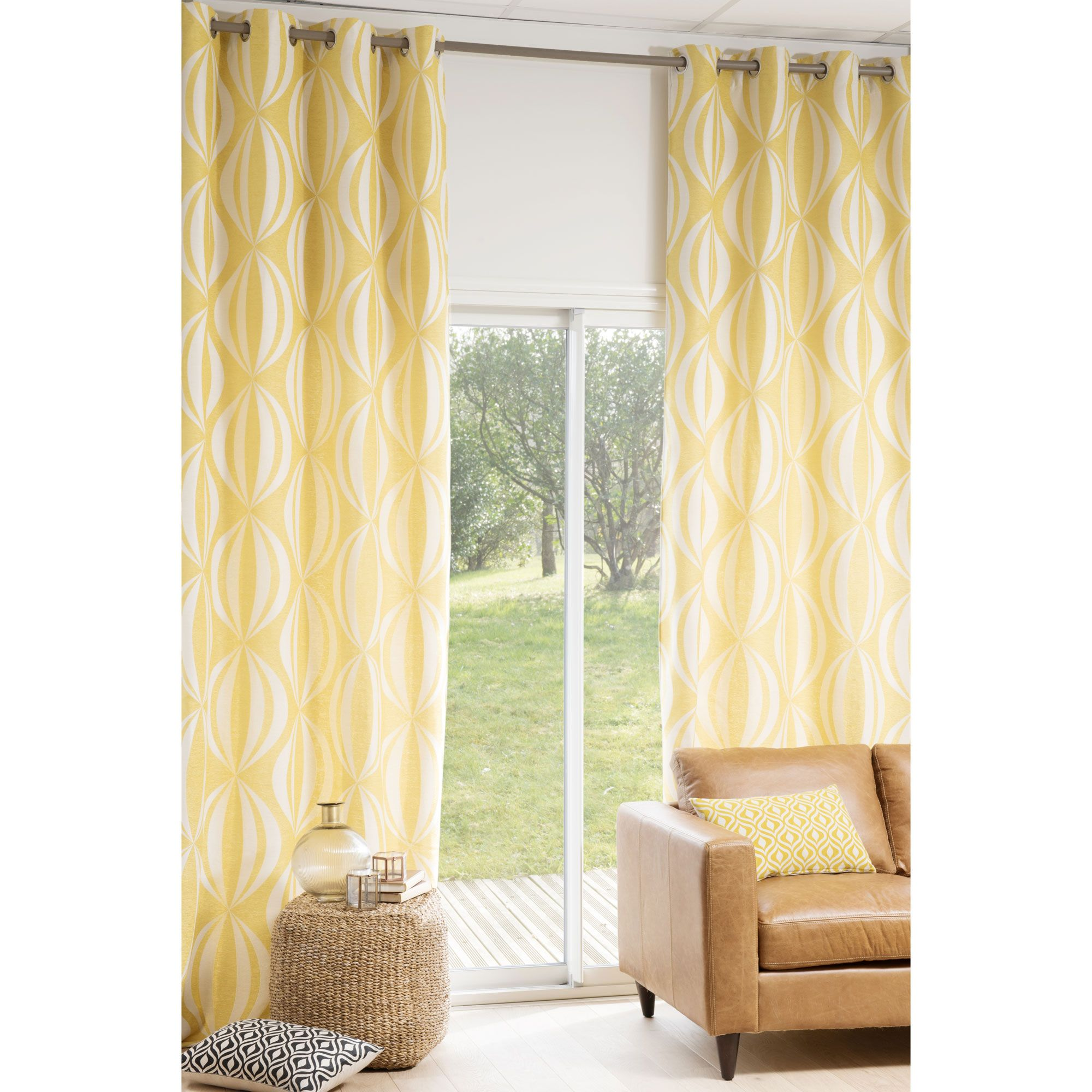 Yellow Curtains, Curtains, Moving House