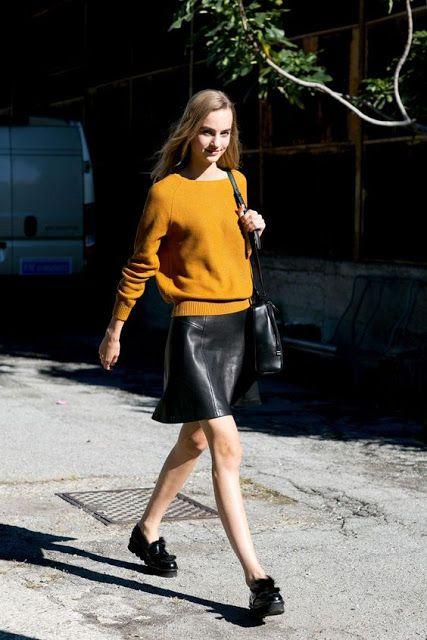 Fashion & Veg: Giallo mostarda, il colore dell'inverno 2017: idee per indossarlo