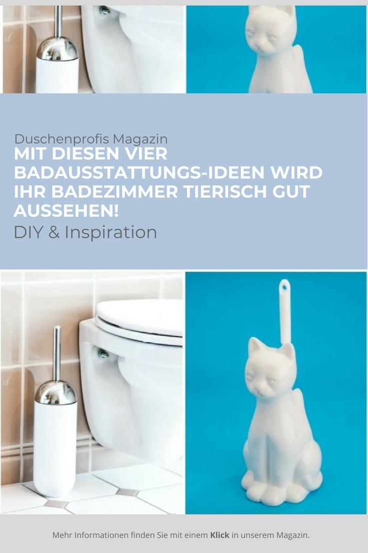 Tierische Badausstattung Zahnburstenhalter Co In Tierform Bad Badausstattung Und Diy Inspiration