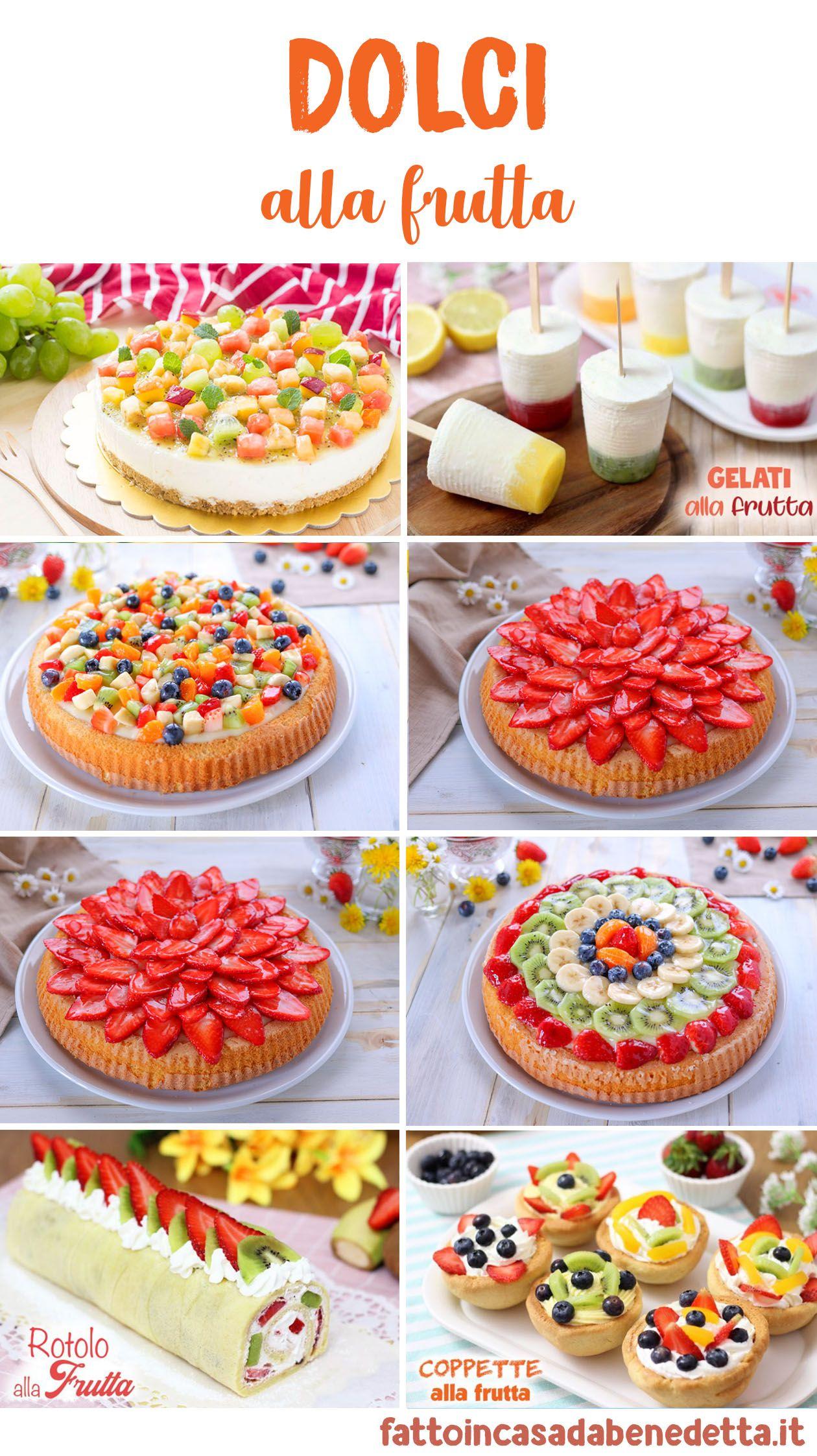 Composizioni Facili Di Frutta dolci alla frutta - ricette facili | ricette, dolci e