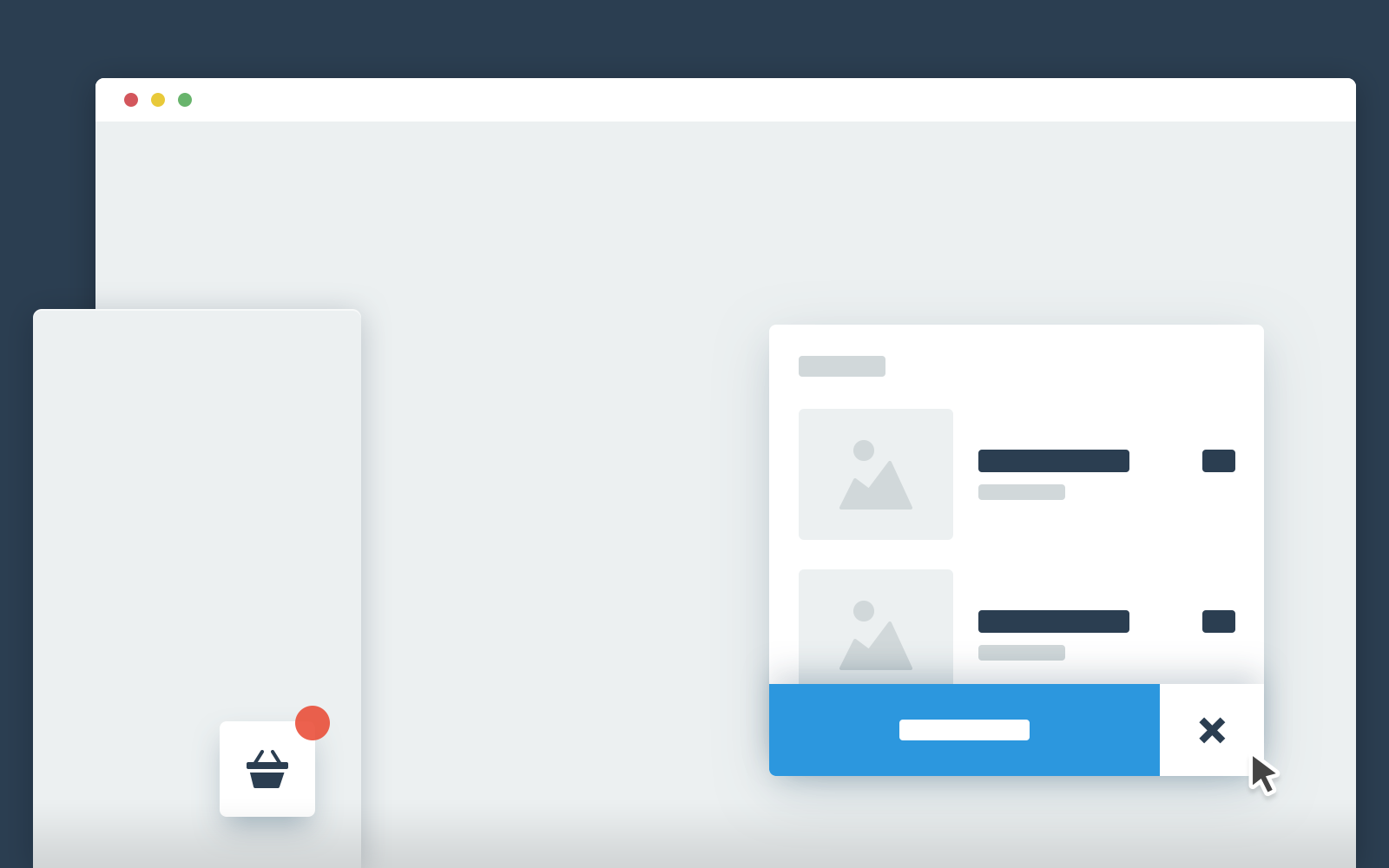 A Floating Cart That Slides In When The User Decides To Buy An Item Jquery Css Interactive