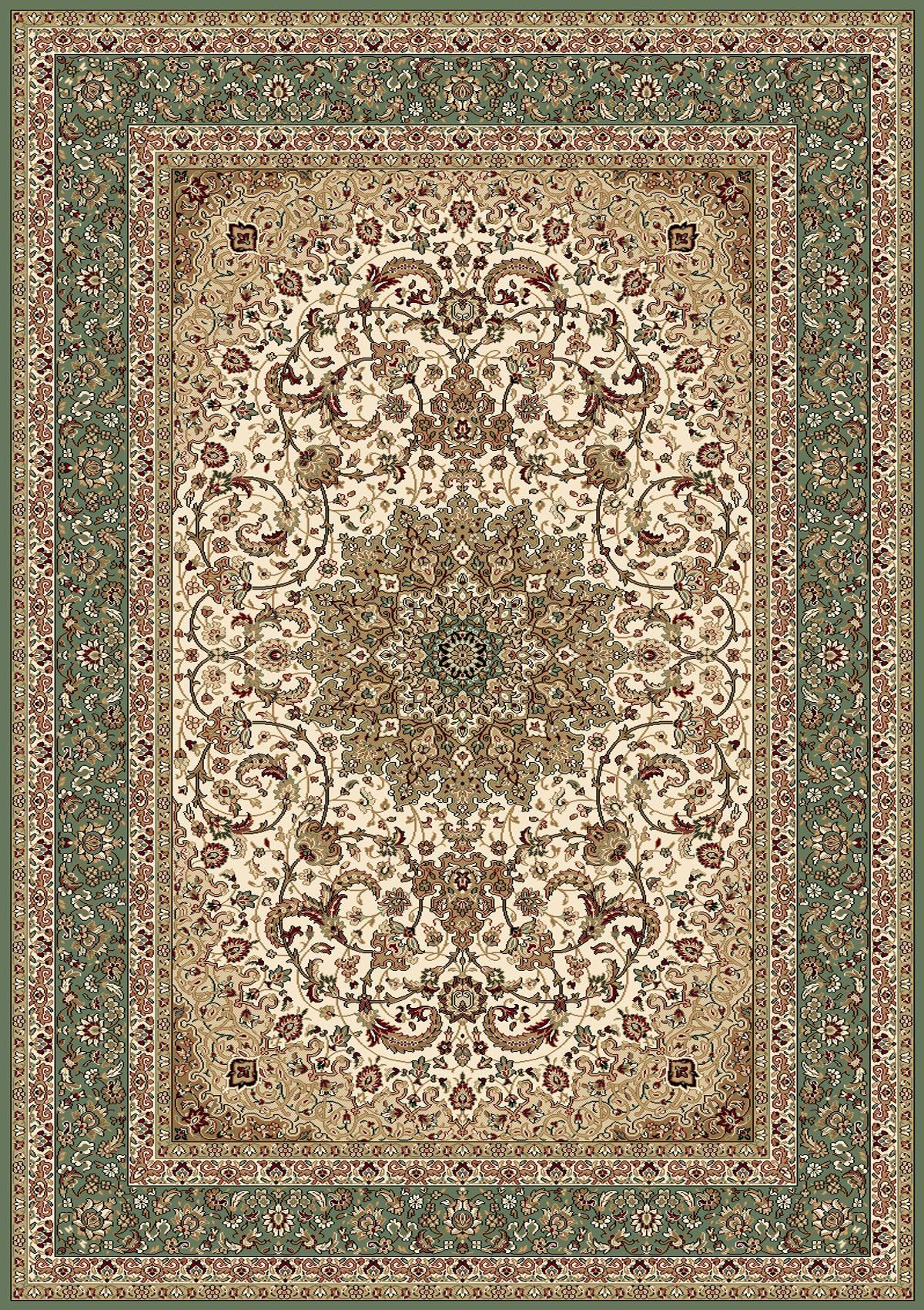 Regency Ivory Green Area Rug Products Rugs