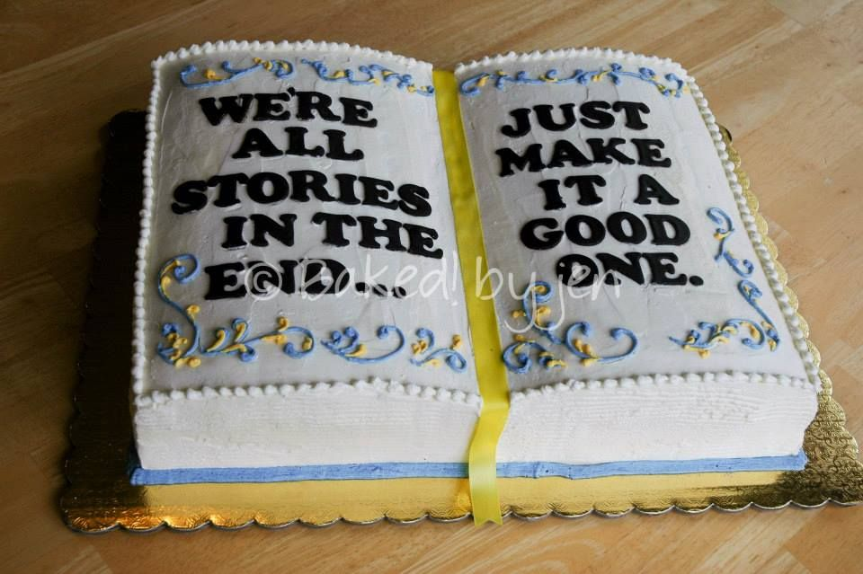 Open Book Graduation Cake Baked By Jen 2013 Book Cakes Book