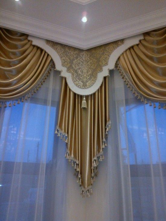 Декор штор: 120 фото лучших идей и основные варианты