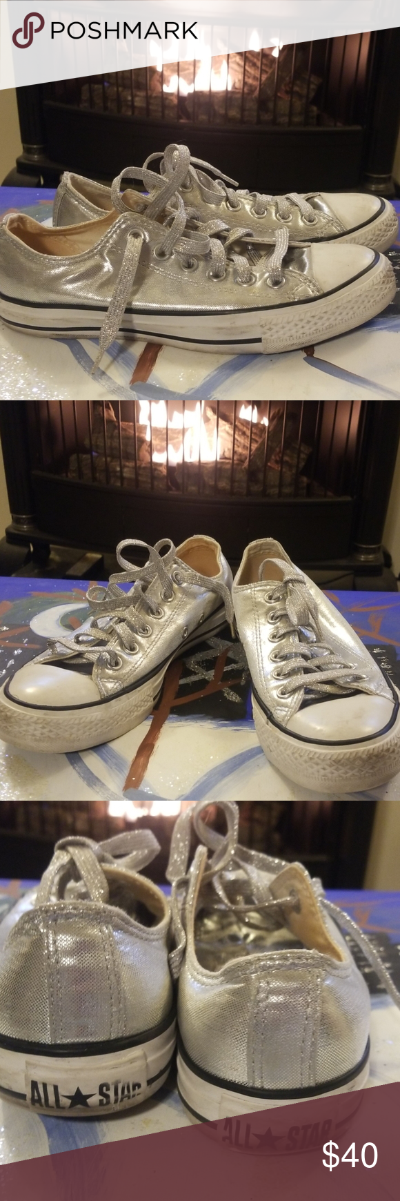 Gentle uses Silver Converse in 2020