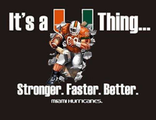 Miami Hurricanes Quotes Google Search Miami Hurricanes Football Football Slogans Miami Football