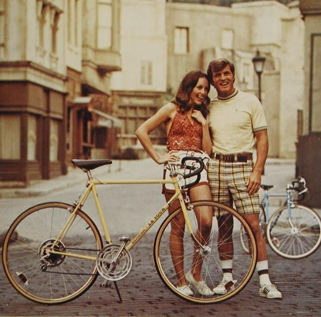 Bikes and short-shorts?  Ouch.