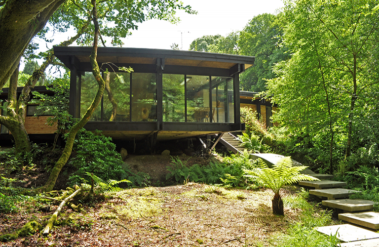 Woodland Eco House On A Budget I Love This House And Its