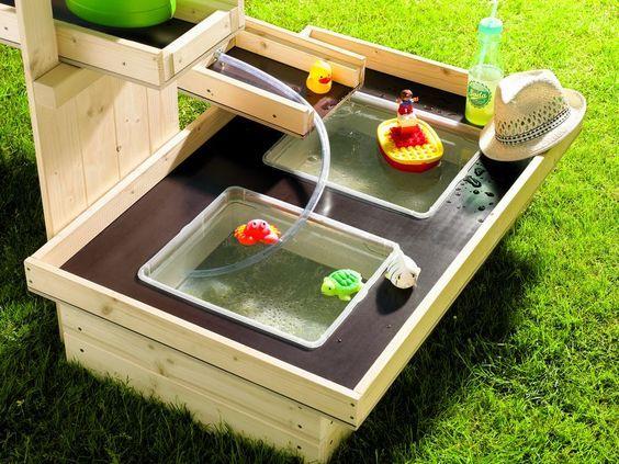 Toom Kreativwerkstatt Wasserspielplatz Pitsch Patsch Wasserspielplatz Garten Spielplatz Spielplatz