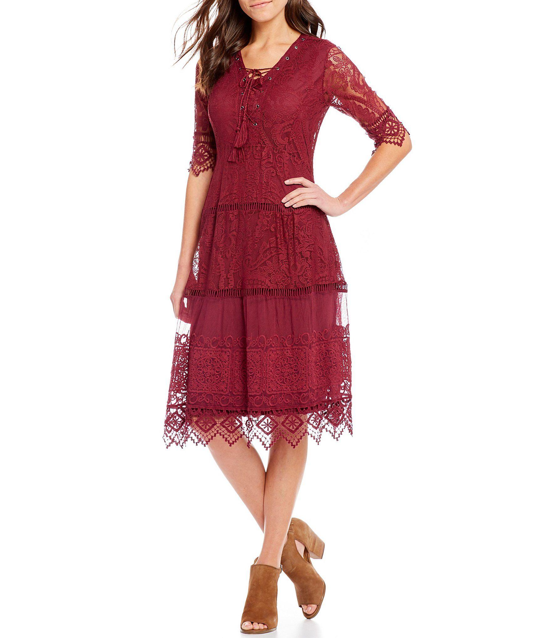 17+ Dillards burgundy dress information