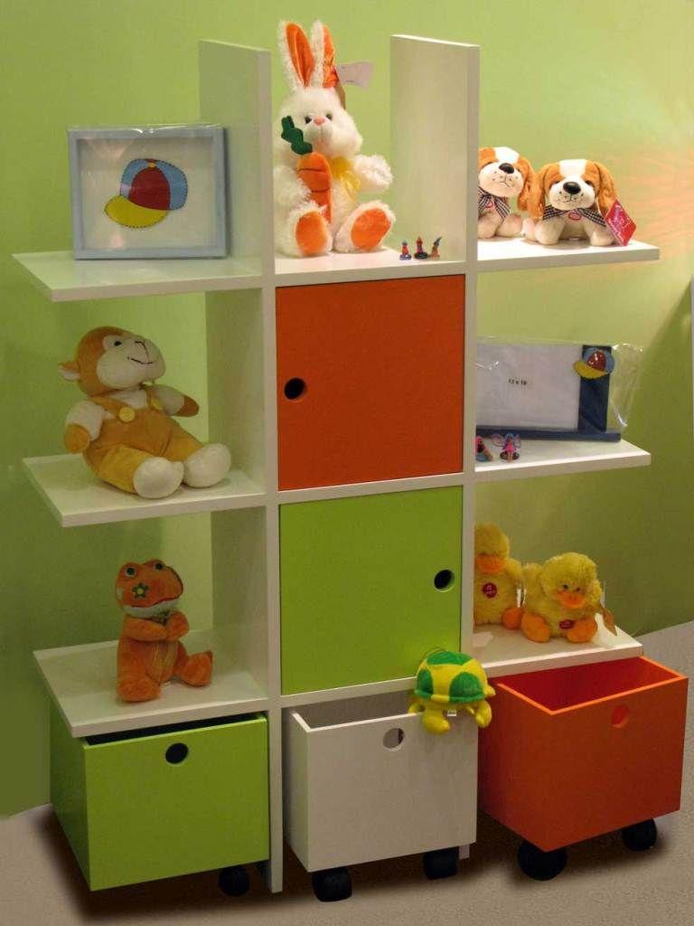 Muebles con cajones jugueteros puertas y estantes for Muebles buenos