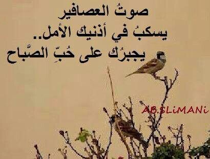 صوت العصافير Lettering Words Arabic Words