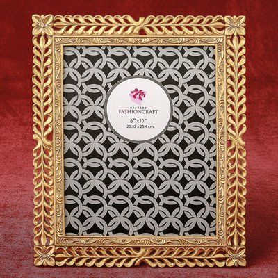 Ophelia Co Arnette Magnificent Picture Frame Colour Gold Picture Size 8 X 10 Frame 10 Frame Mirrored Picture Frames