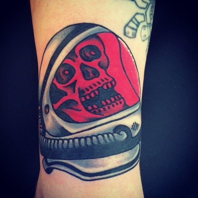 Jason Ochoa as featured on www.swallowsndaggers.com #tattoo #tattoos #skull