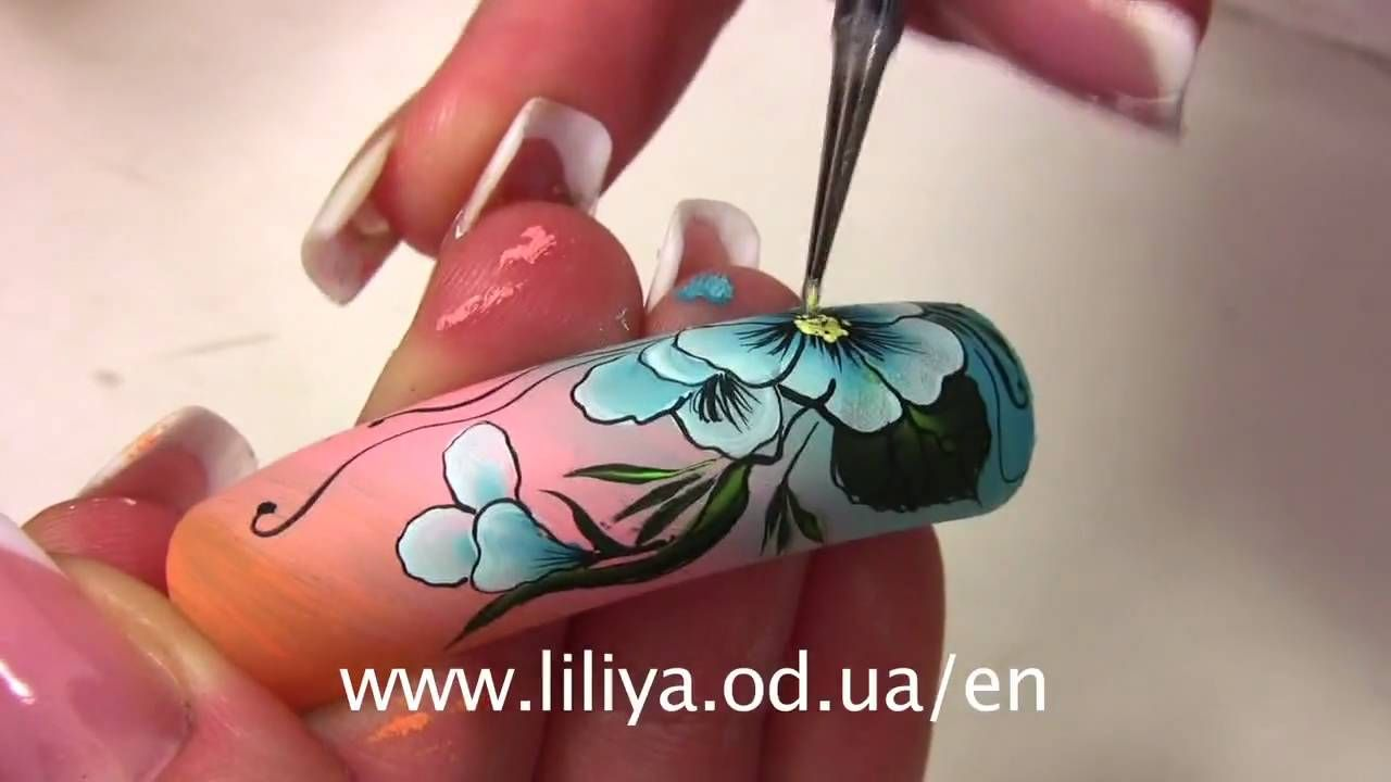 Nail Art by Liliya Sereditskaya (Breath of spring)