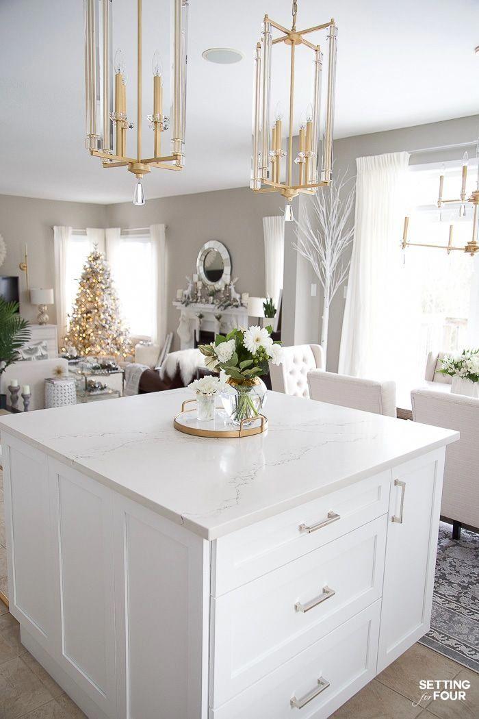 caesarstone stautario nuvo quartz countertop on kitchen island looks like a natura in 2020 on kitchen island ideas white quartz id=81674