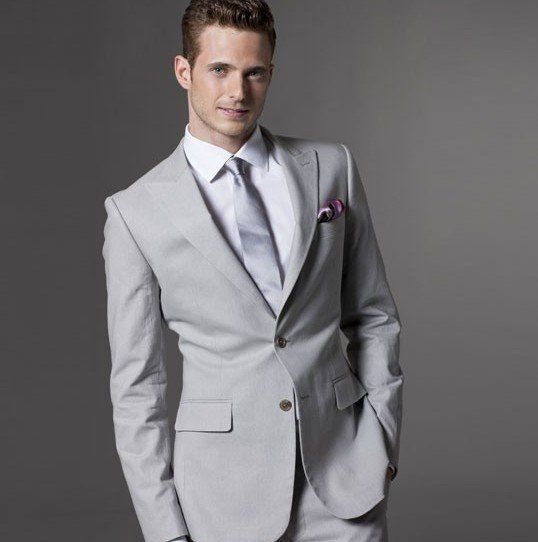 light grey men suit - Google Search I REALLY LIKE THIS ONE ...