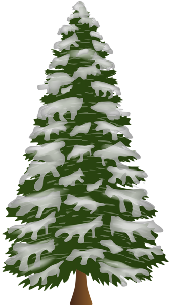 Sosna Z Sniegiem Png Clip Art Christmas Tree Clipart Clip Art Flower Clip