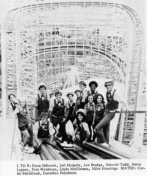 The Crew That Worked The Texas Cyclone...