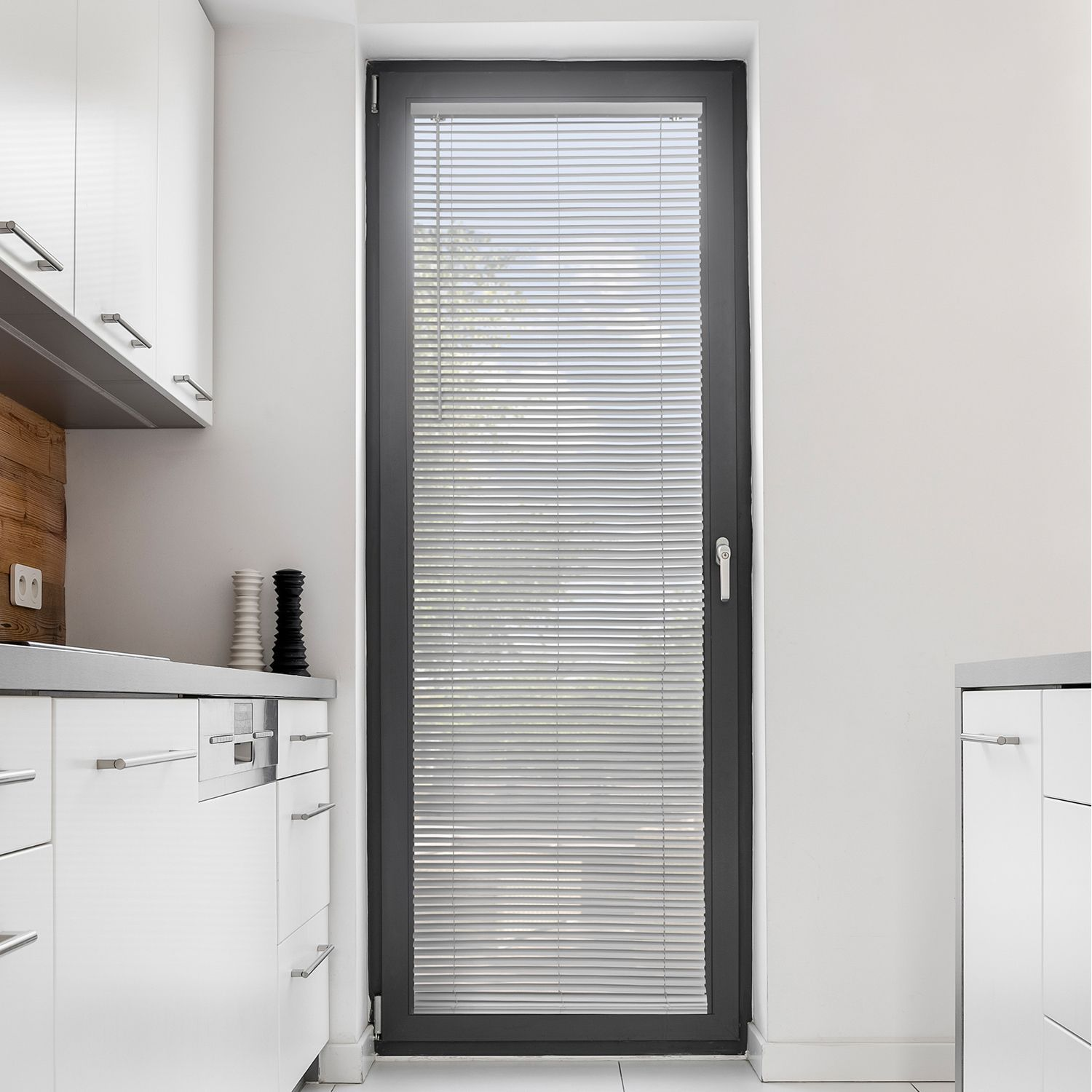 Chicologys cordless vinyl blinds make any home a modern