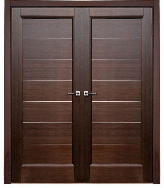 modern door | Latest Wooden Main Double Door Designs ...