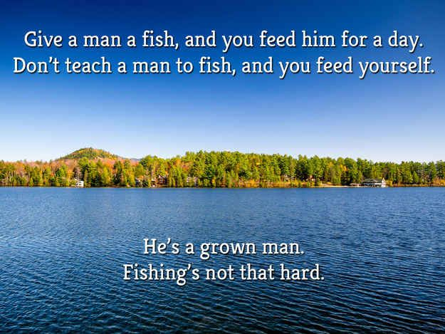 If Ron Swanson Quotes Were Motivational Posters. ***i love Ron!!! And I want all these in my house***