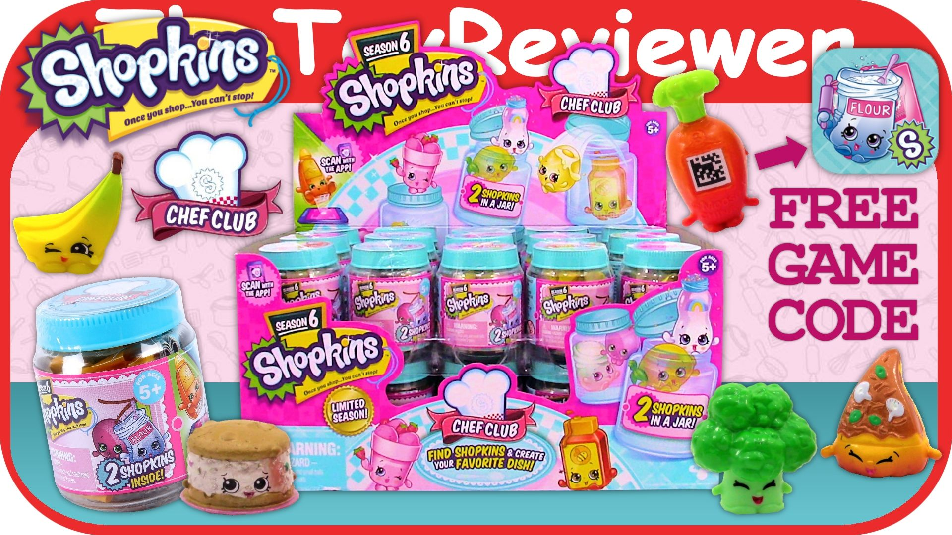 Check out this full case of Shopkins Chef Club Blind Bags here: https://www.youtube.com/watch?v=67GqTKE8pss