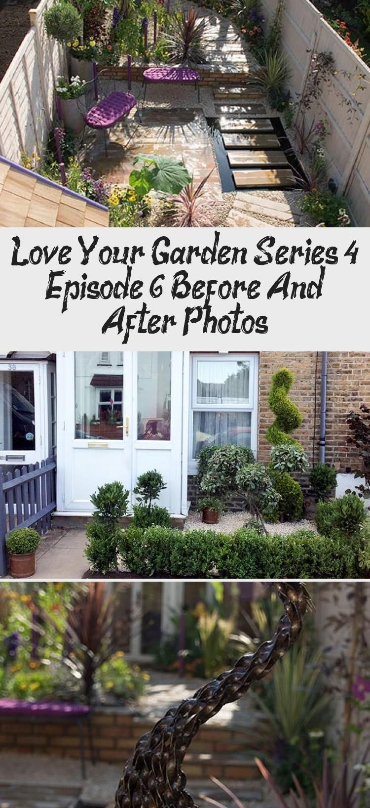 Vegetable Gardening Layout Love Your Garden episode 6 finished garden photo for Joan Myers OBE