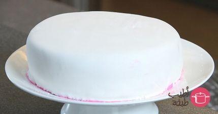 خطوات تزيين كيك بعجينة السكر بالصور Cooking Recipes Sugar Paste Sweet Tooth