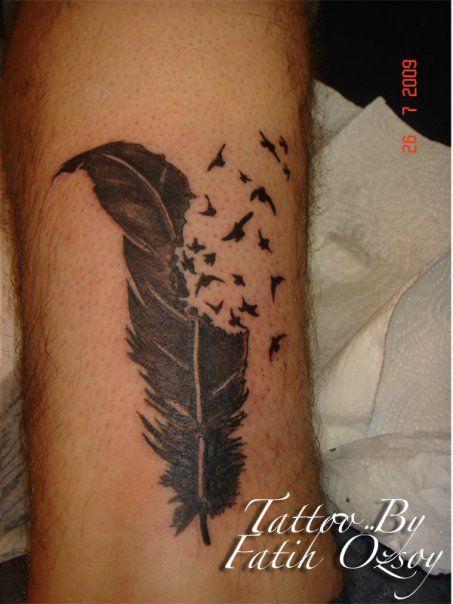 feather tattoo by tattoo brothers istanbul tattoos pinterest tatouage plume tatouage e plume. Black Bedroom Furniture Sets. Home Design Ideas