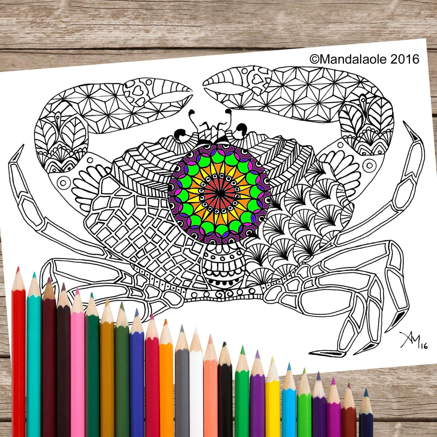 Fine House For Hermit Crab Coloring Page Photos - Professional ...