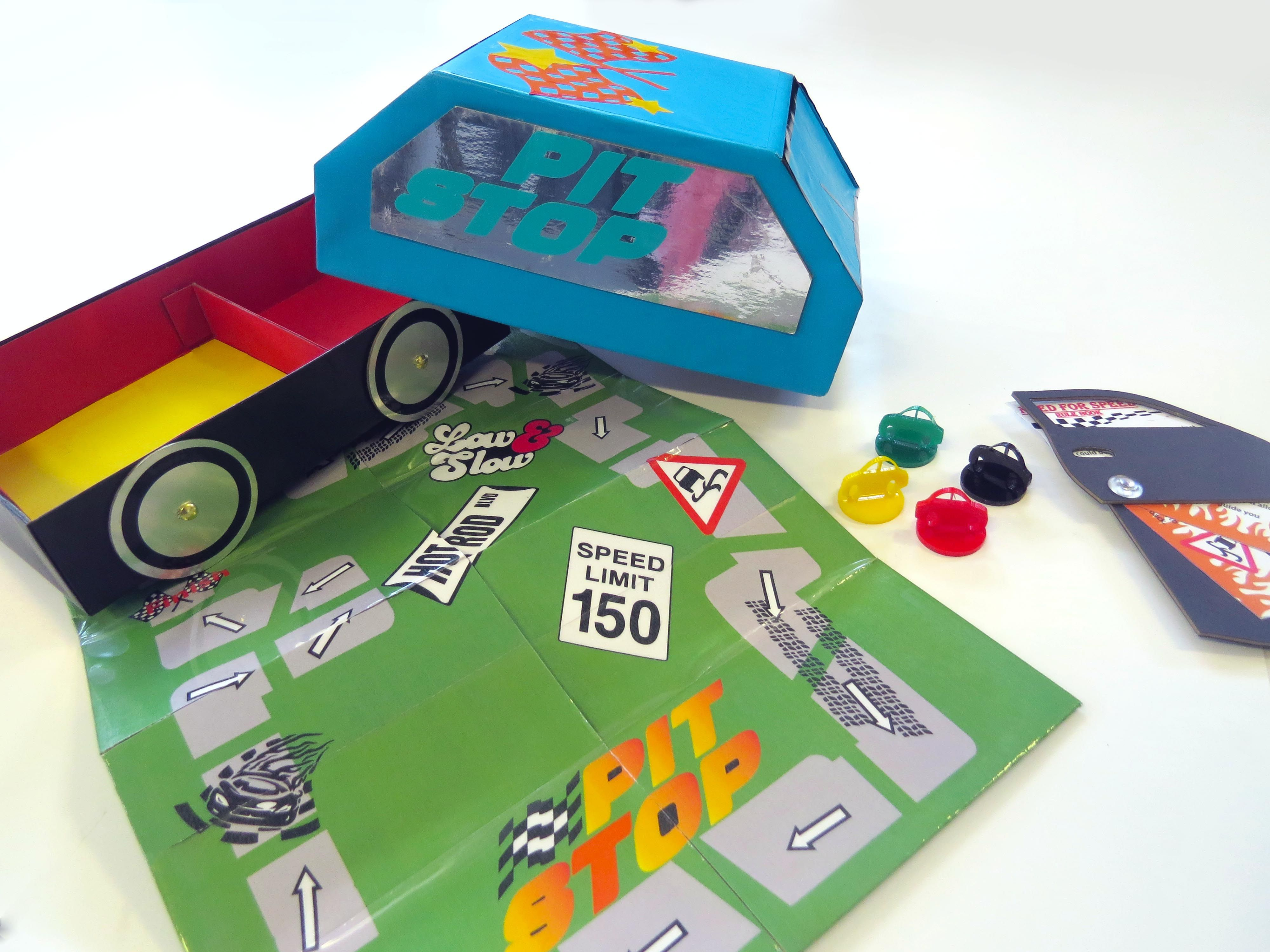 pit stop board game Board games, Games, Aqa