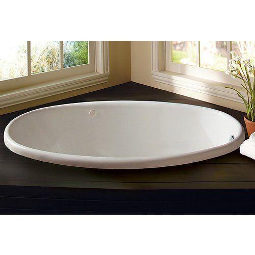 Proflo Pfs5838 58 X 38 Drop In Soaking Bathtub Easycare Acrylic
