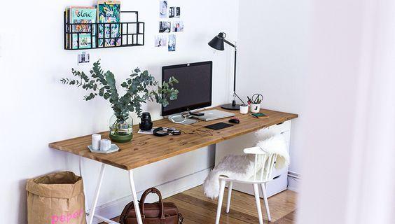 Ideas para decorar y ambientar tu área de estudio,Ideas para decorar ...