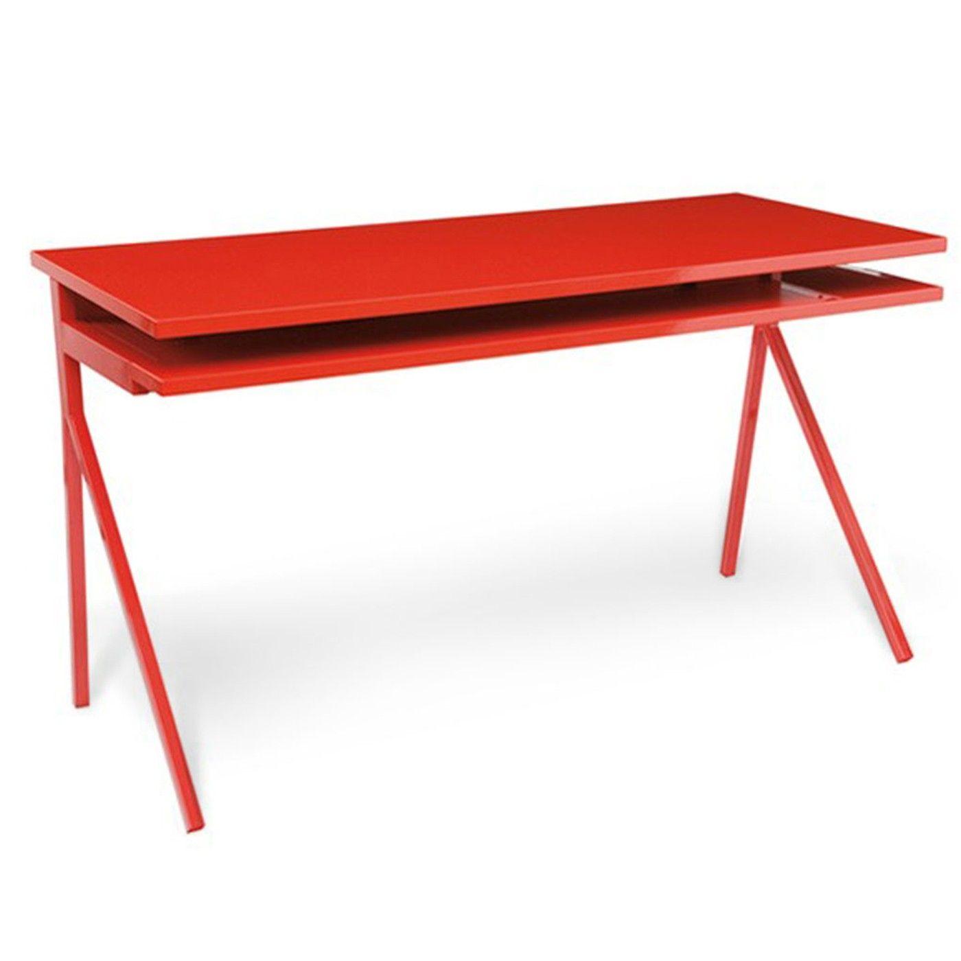Deskmoderndeskred for the office furniture pinterest