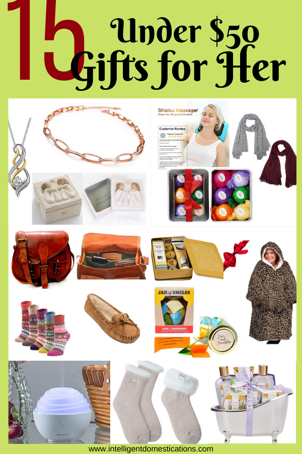 15 Gifts Women Really Want Under 50 Thoughtful Gifts For Her Gifts For Women 15 Gifts