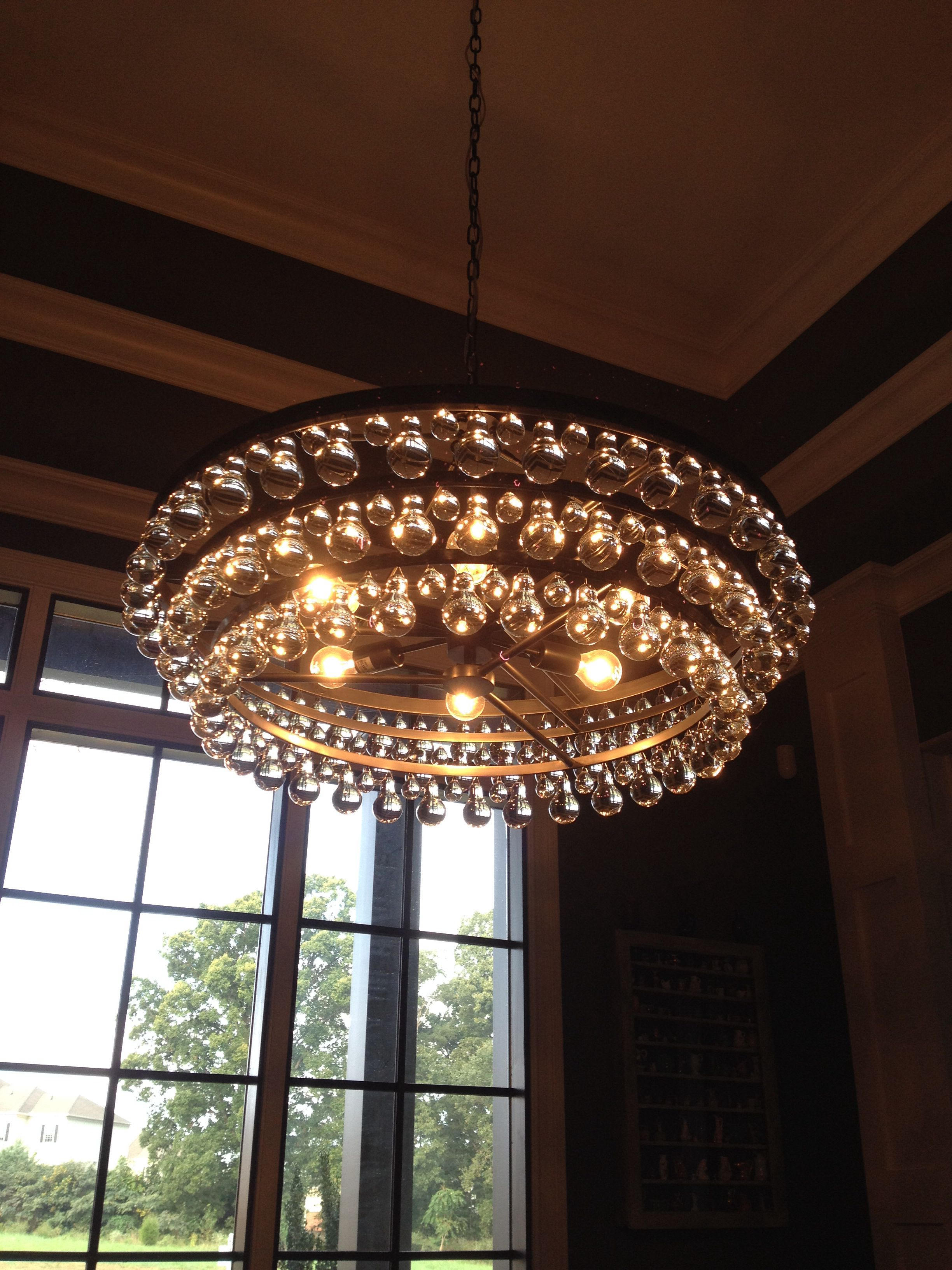 Robert abbey bling chandelier chez moi pinterest robert abbey bling chandelier aloadofball Image collections