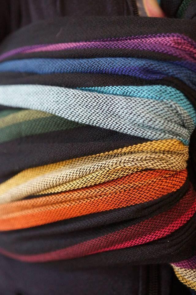 119178f693b Girasol Corrina s Rainbow  cuervo  twill exclusive woven wrap 9 2013  160