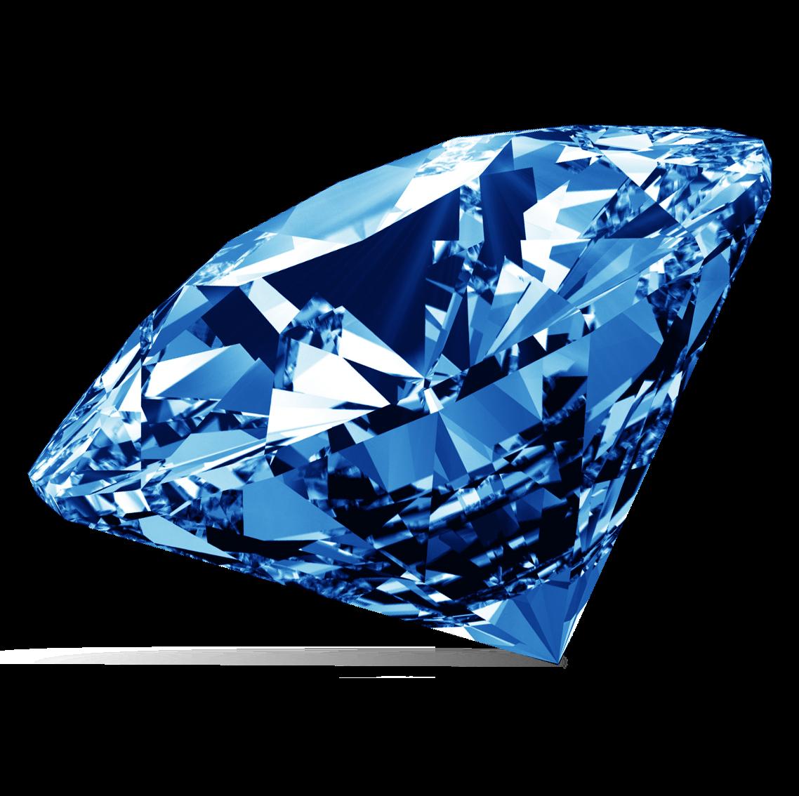 Diamond Png Image Blue Diamond Blue Diamond Jewelry Diamond Image