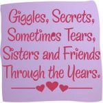 Happy Friendship Day Quotes For Sister Pientrest Sister Quotes