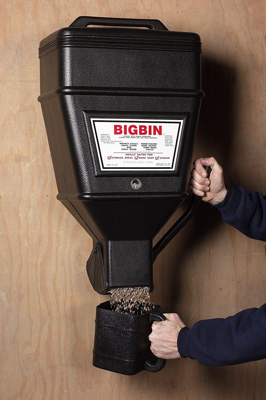 Kane Bbd Big Bin 40lb Large Wall Mounted Dispenser Bulk Cat Litter