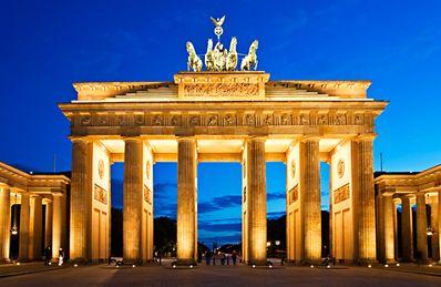 Berlin Germany Brandenburg Gate Berlin City Brandenburg