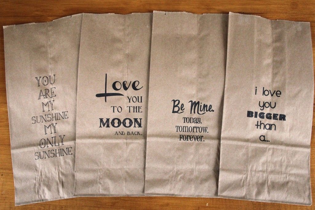 How To Print On Brown Paper Bags Perfect For School Lunches