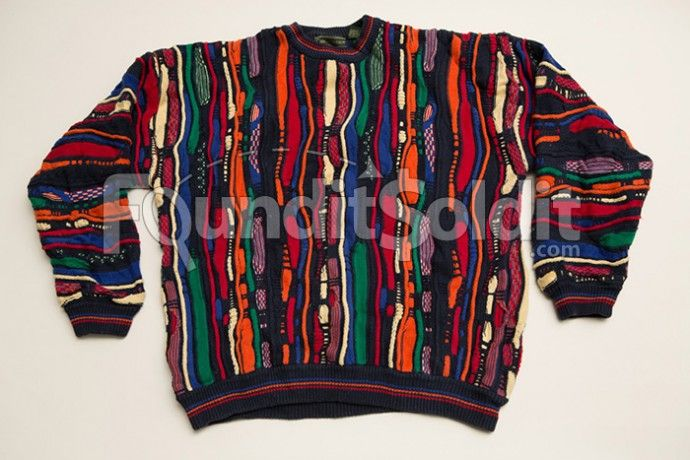 Vintage Croft and Barrow Ugly Sweater, Cosby Style