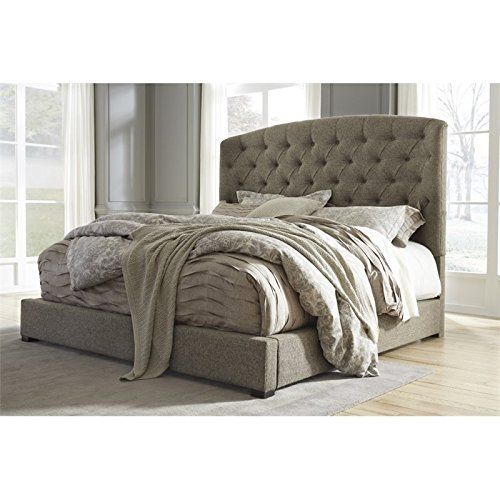 Ashley Gerlane King Sleigh Bed In Graphite Learn More By Visiting The Image Link This Is An