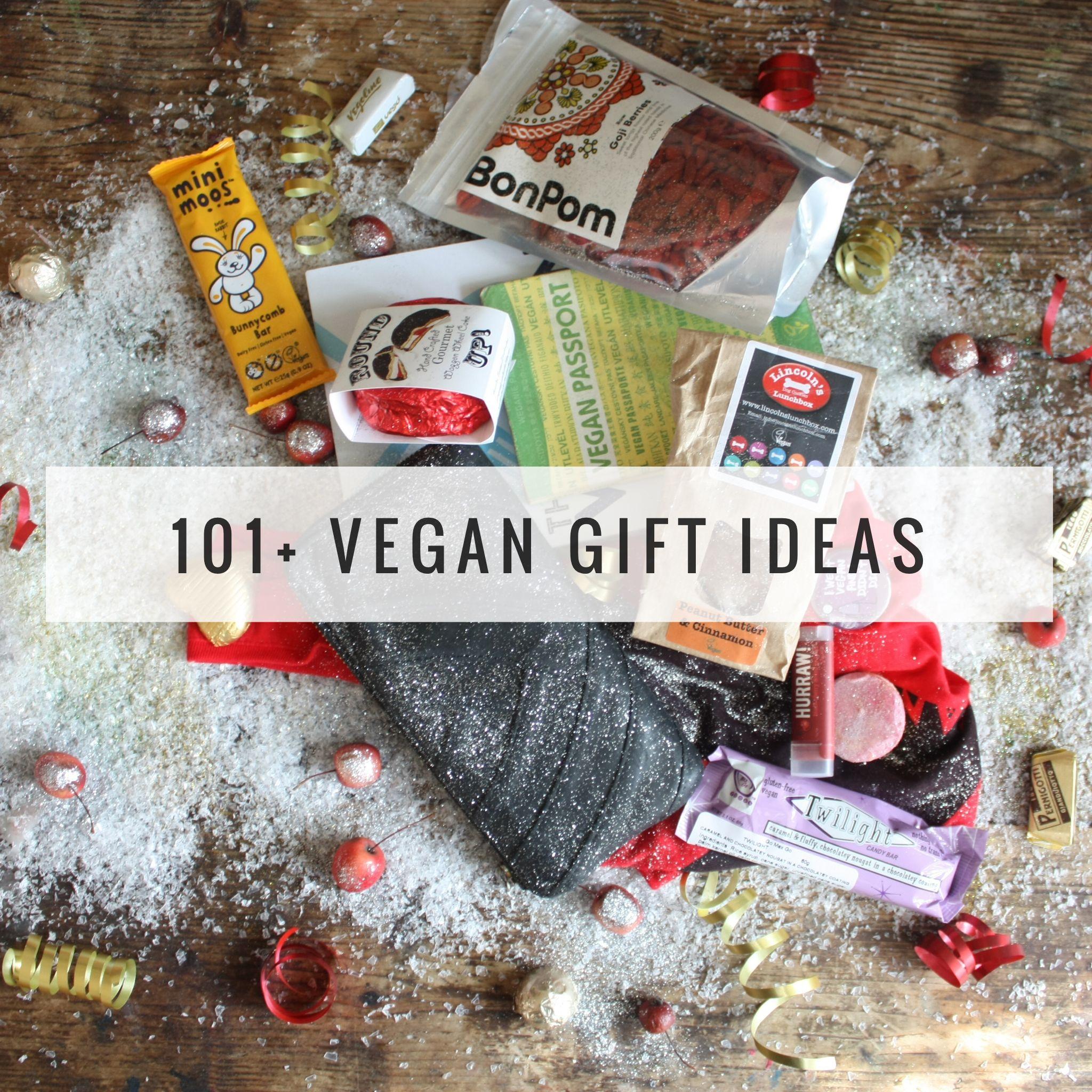 Vegan Vegetarian Gift Ideas For Him Her Family Love Holiday Etc Vegan Gifts Vegan Christmas Gifts Vegan Food Gifts